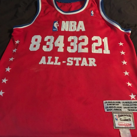 timeless design 8be45 b1691 NBA COLLECTORS ALL STAR JERESY